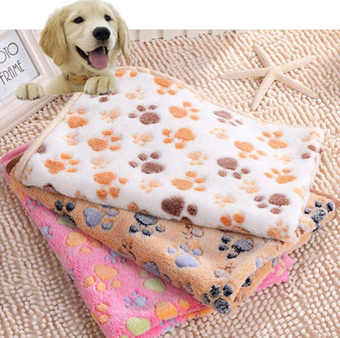 Warm Pet Dog Blanket Puppy Sleep Dogs Mat Small Large Size Dog Blanket Towel Winter Pet