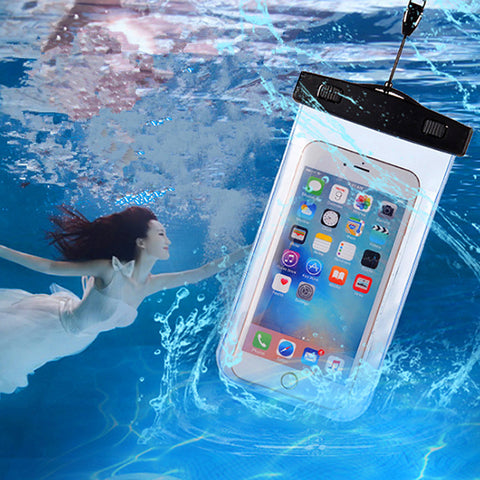 Waterproof Bag Dust Proof Underwater Pack Cover Case Pouch For iPhone 8 7 6 6S Plus 5 5S