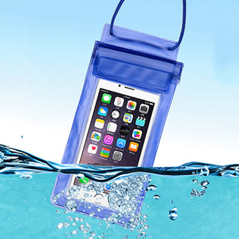 Waterproof Mobile phone bag pouch power bank Swimming surfing Hermetic bag for Apple