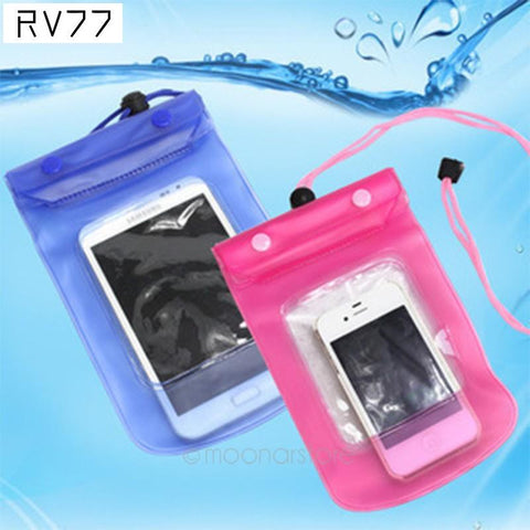 Waterproof Soft PVC Phone case,underwater photograph diving Pouch Dry bag For Apple iPhone