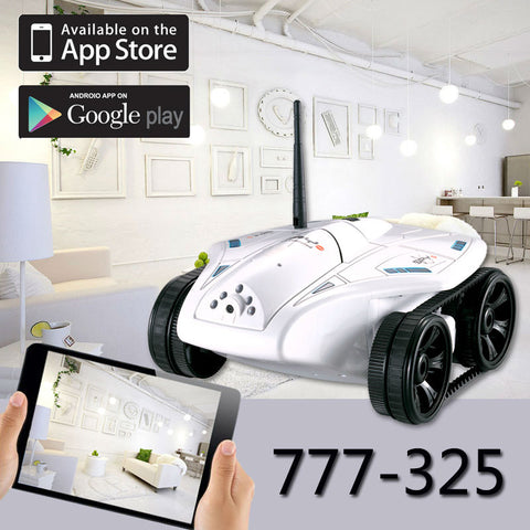 Wifi RC Car with camera hot 777-325 RC Mini Tank Real-time Video Photo Transmission