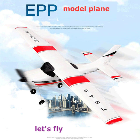 Wltoys F949 CESSNA-182 3 Channel 2.4G Control Airplane RC Airplane EPP Model Plane RTF 3