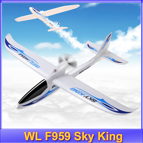 Wltoys F959 Sky King 3CH RC Airplane Fixed Wing Plane RTF Electric flying Aircraft VS