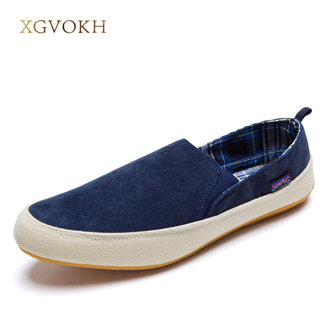 XGVOKH New men casual shoes man spring autumn Loafers England Fashion Zapato Breathable