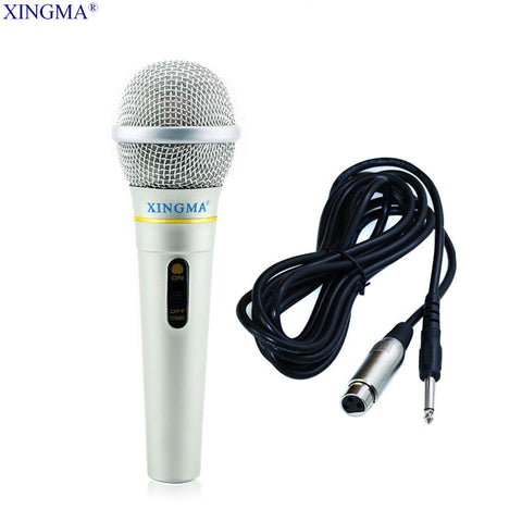 XINGMA AK-319 Dynamic Microphone Professional Wired Handheld Karaoke Microphone studio For