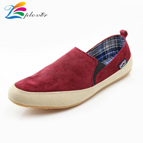 Zplover Summer Canvas Shoes Low Breathable Canvas Shoes For Men Casual Shoes Comfortable