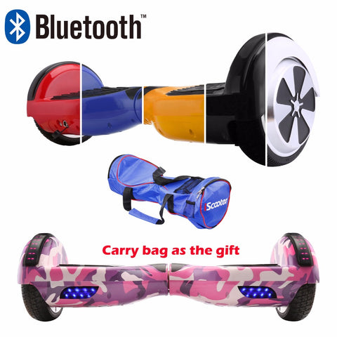 iScooter 6.5Inch Hoverboard Bluetooth Speaker Electric Giroskuter Gyroscooter Overboard