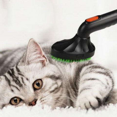 pet brush Pets Cat Dog Vacuum Cleaner Nozzle Attachment Hair Brush Grooming Tool .