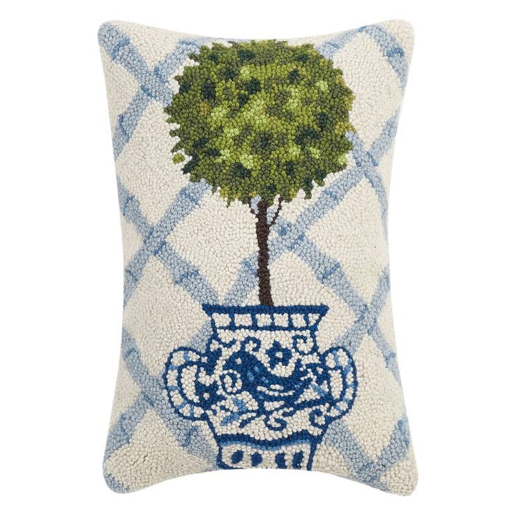 Ball Topiary Hook Pillow