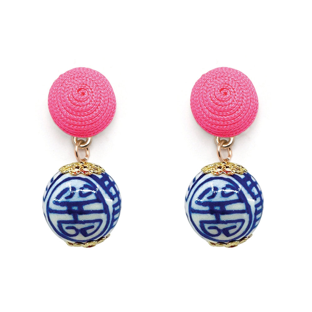 Chinoiserie Earrings