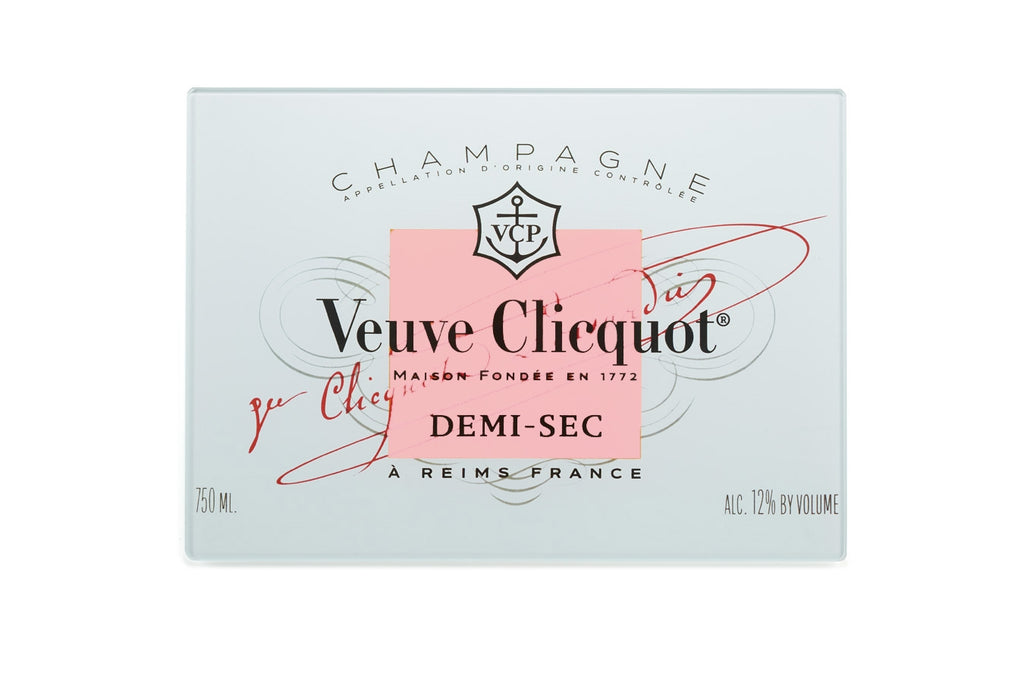 Cocktail Napkins set of 4 - Veuve Label