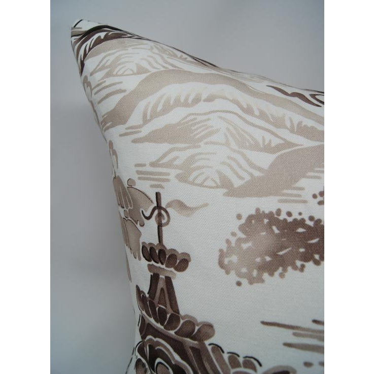 Gardens of Chinoise Pillow