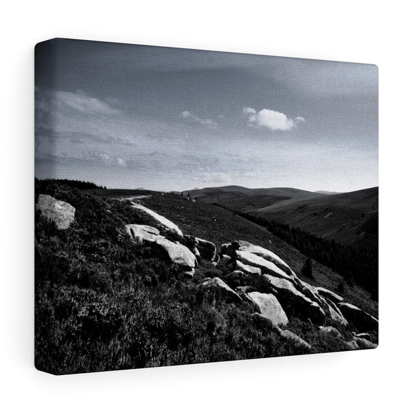 Tibradden Mountain, Dublin, Ireland  - Canvas Wrap