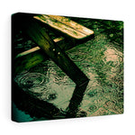 Wet Bench - Addison Lodge, Glasnevin, Dublin, Ireland  - Canvas Wrap