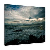 Storms End - Donabate, Co Dublin, Ireland  - Canvas Wrap