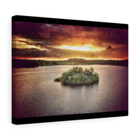 Oakport Lough, Co Roscommon, Ireland - Canvas Wrap