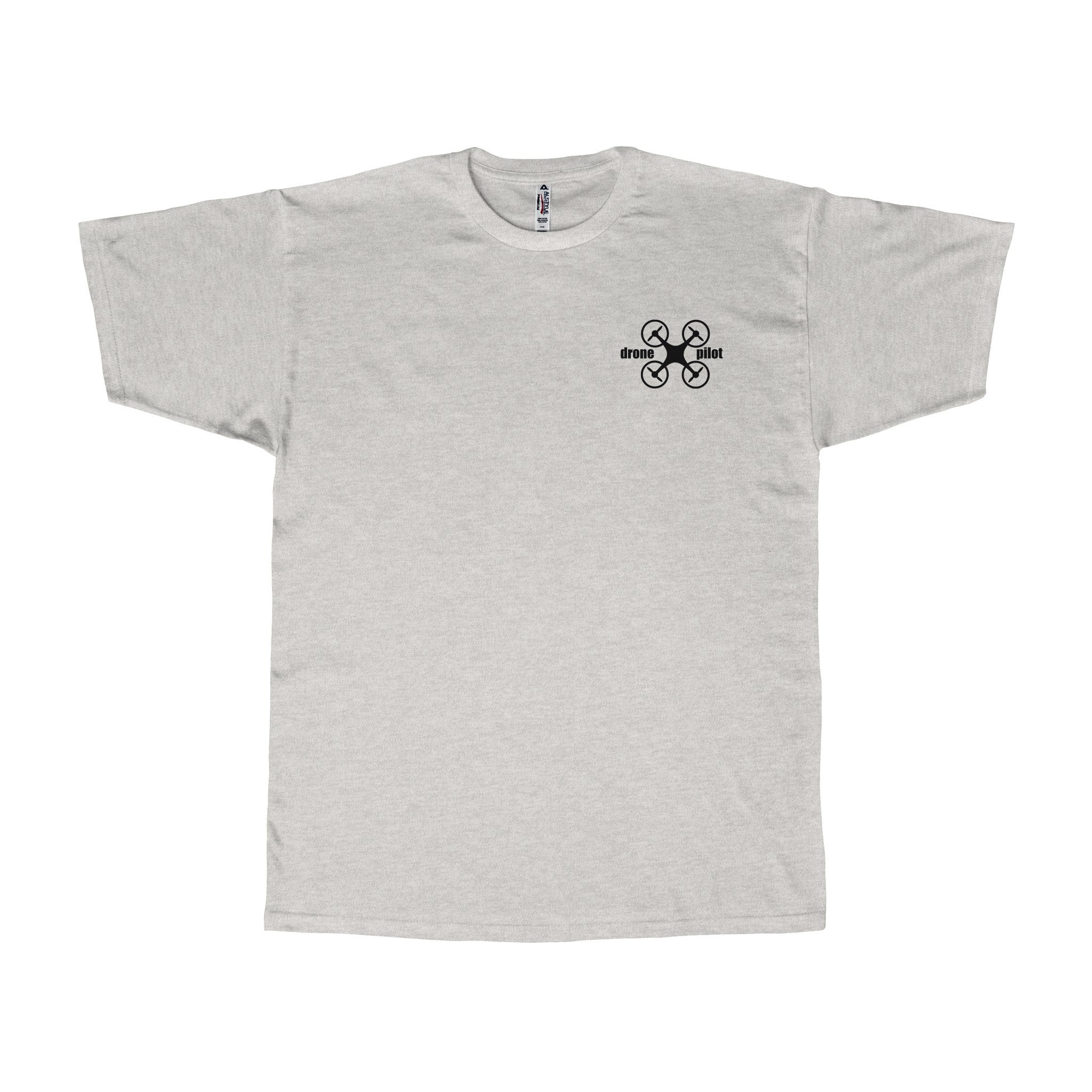 Drone Pilot (small - breast logo) - Adult T-shirt