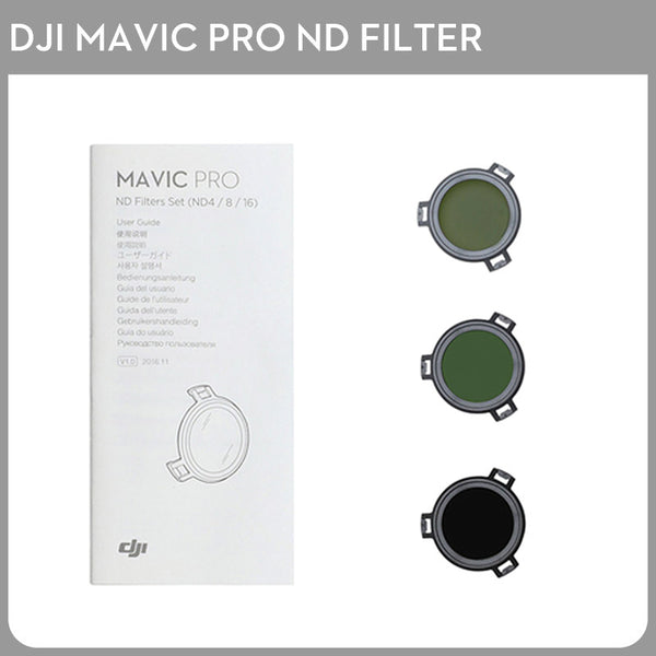 DJI Mavic Pro ND Filters Set (ND4/8/16) for Mavic Pro Camera Drone Filter 3PCS Filter