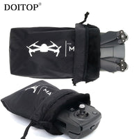 DOITOP Universal Drone Body Remote Control Soft Storage Bag For DJI Mavic Pro Air Waterproof Aircraft Sleeve Carry Pocket Case