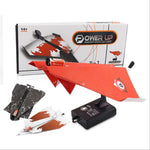 New! Electric Paper Airplane - DIY Educational Folding Power Plane - FREE SHIPPING!