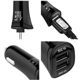 Rocketek multi usb car charger 2 USB 4.2A phone adapter accessories for iphone 4 5 6 huawei Xiaomi samsung galaxy s8 car-charger