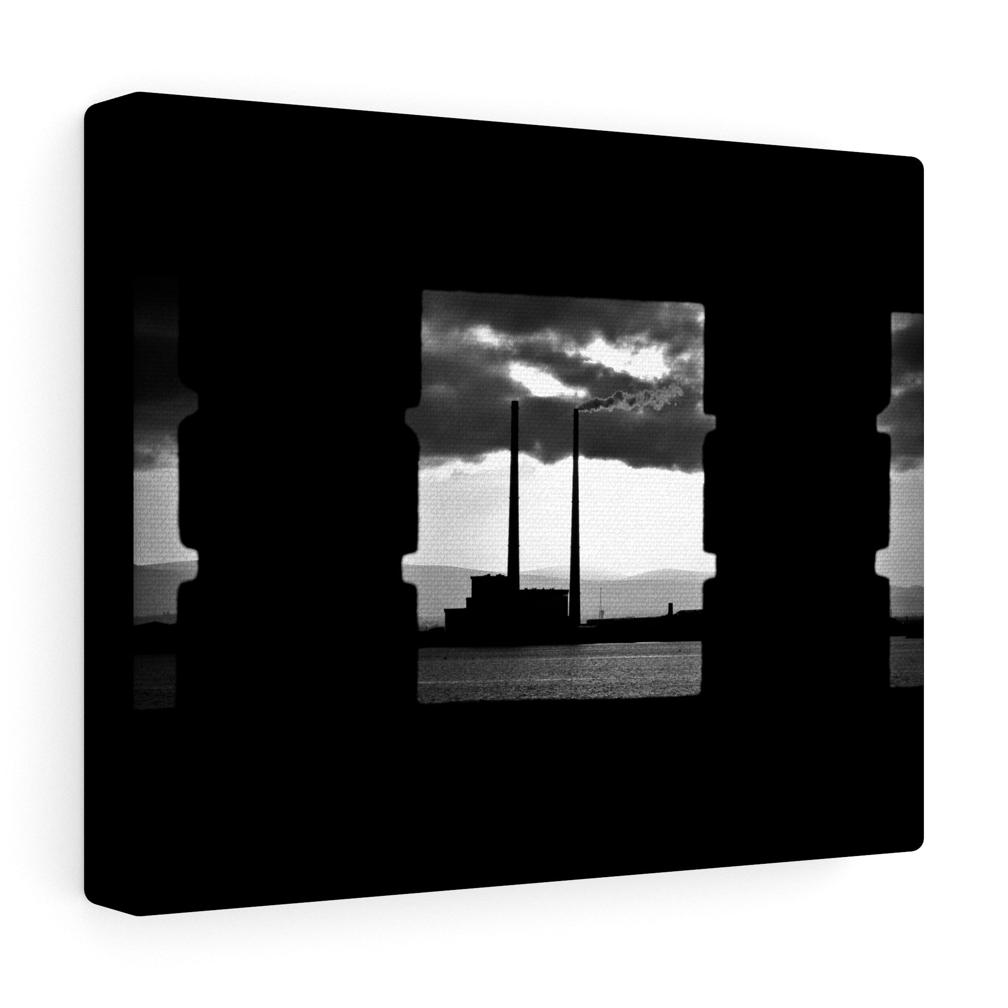 Dublin Bay Pigeon House - Canvas Wrap