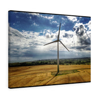 Ballywater Windmill, Co Wexford, Ireland - Canvas Wrap