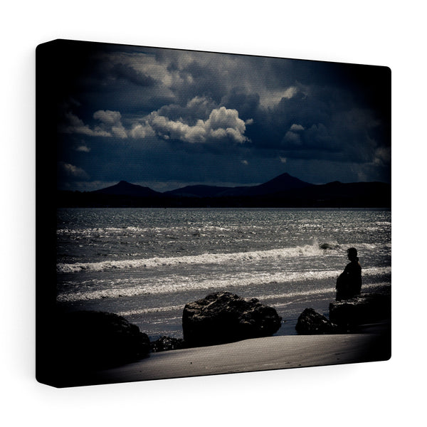 Dollymount & Dublin Mountains, Dublin, Ireland  - Canvas Wrap