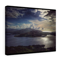 Caragh Lake, Killorglin, County Kerry, Ireland - Canvas Wrap