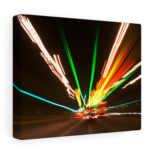 Blurred Lines abstract  - Canvas Wrap