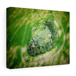 Ballywater Raheen or Fairy ringfort, Co Wexford, Ireland  - Canvas Wrap