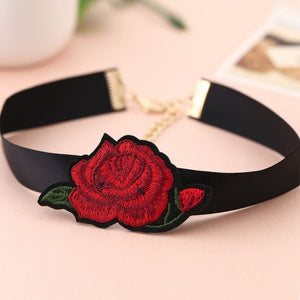 Bohemian - Boho Flower Choker Necklace for Women. Hot Steampunk. - Style4-Nature