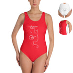 One-Piece Badeanzug - Swimsuit - Style4-Nature