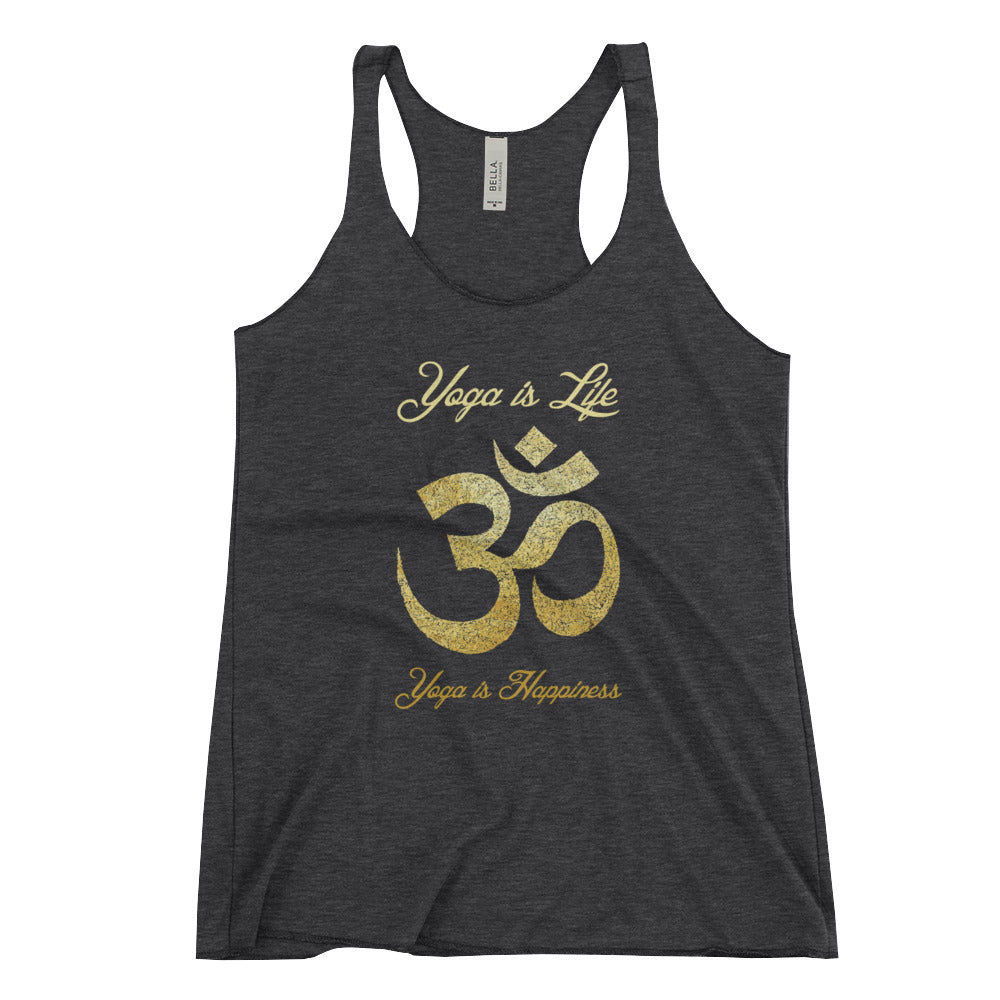 Yoga is Life - Trainings Tank-Top für Frauen - Style4-Nature