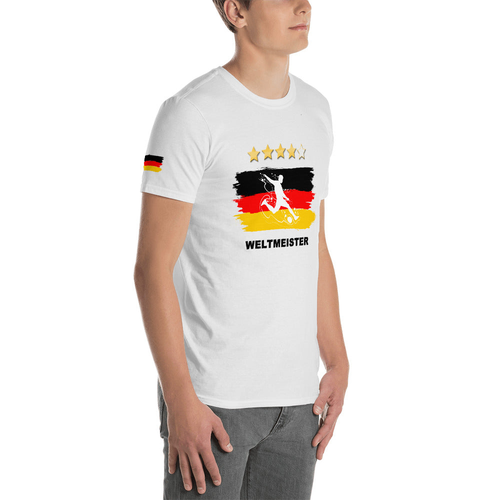WM Fan-Shirt - Public Viewing - Weltmeister - Style4-Nature