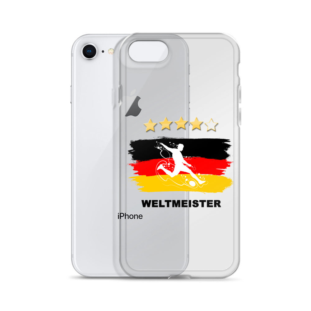 WM Fan - iPhone Hülle iPhone X, 8, 7, 6, 5 Serien - Style4-Nature