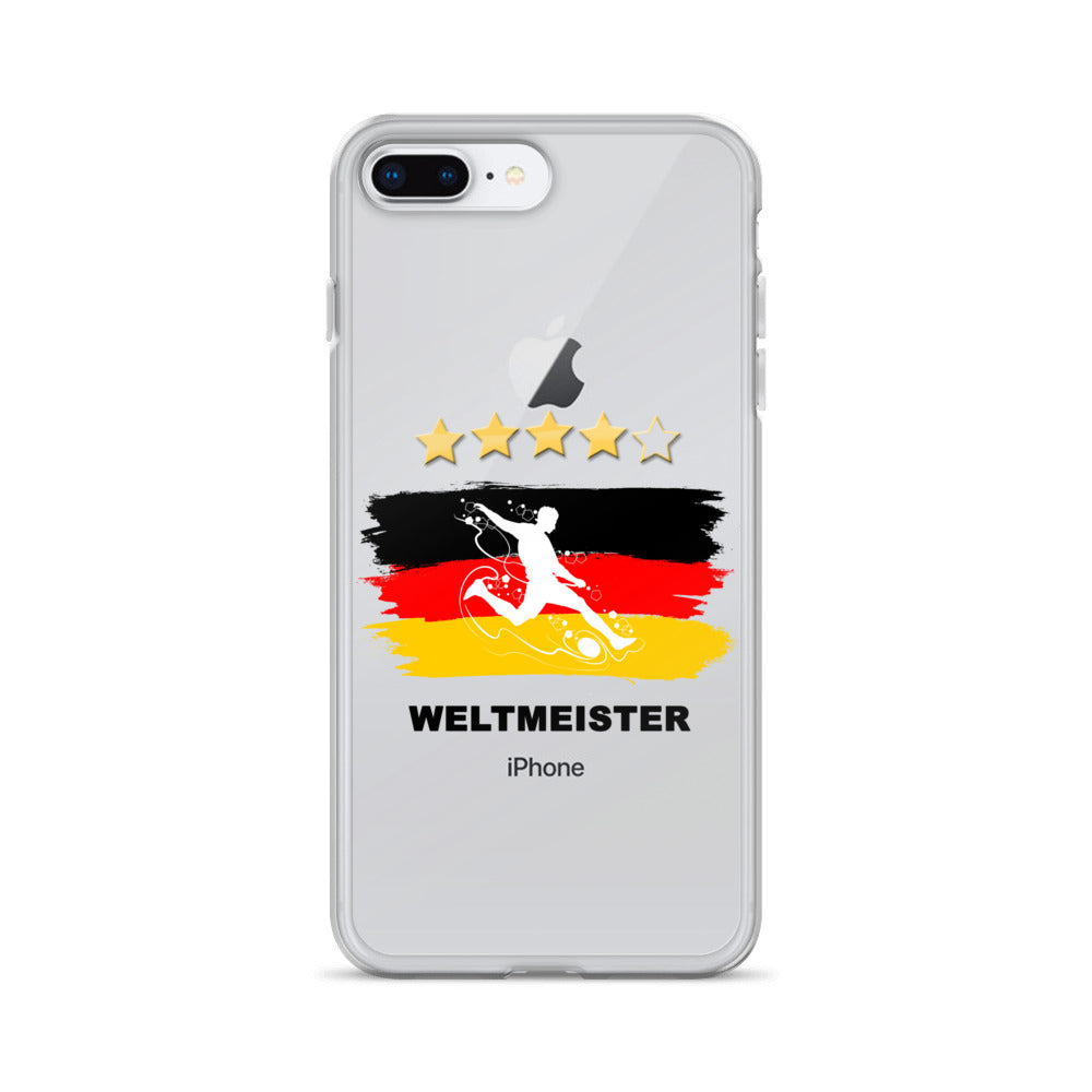 WM Fan - iPhone Hülle iPhone X, 8, 7, 6, 5 Serien - Style4-Nature - Schmuck - Mode - Home Deko