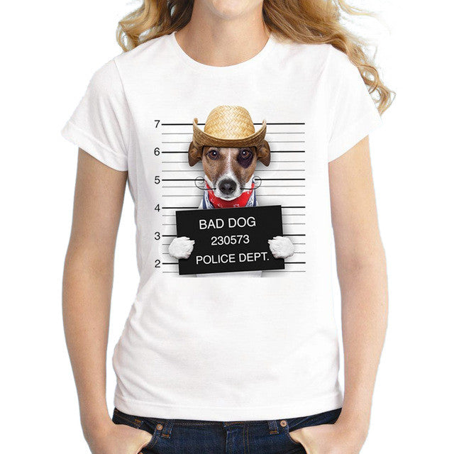 Bad Dog! 6 Varianten Cooles T-Shirt für alle Hunde Fans - Style4-Nature - Schmuck - Mode - Home Deko