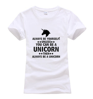 Always Be Yourself Unless You Can Be A Unicorn T-Shirt - Style4-Nature - Schmuck - Mode - Home Deko