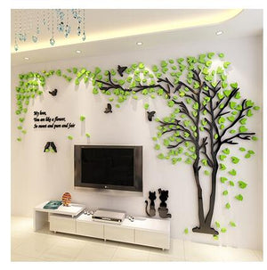 3D Wand Sticker. Baum Motiv. Wall Sticker. Tree. Luxus