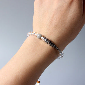 Pure Crystal - Armband Fisch & Lotus - Style4-Nature - Schmuck - Mode - Home Deko