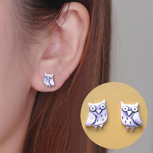 Beautiful Owls - Tolle Eulen-Ohrstecker mit liebevollen Details. - Style4-Nature