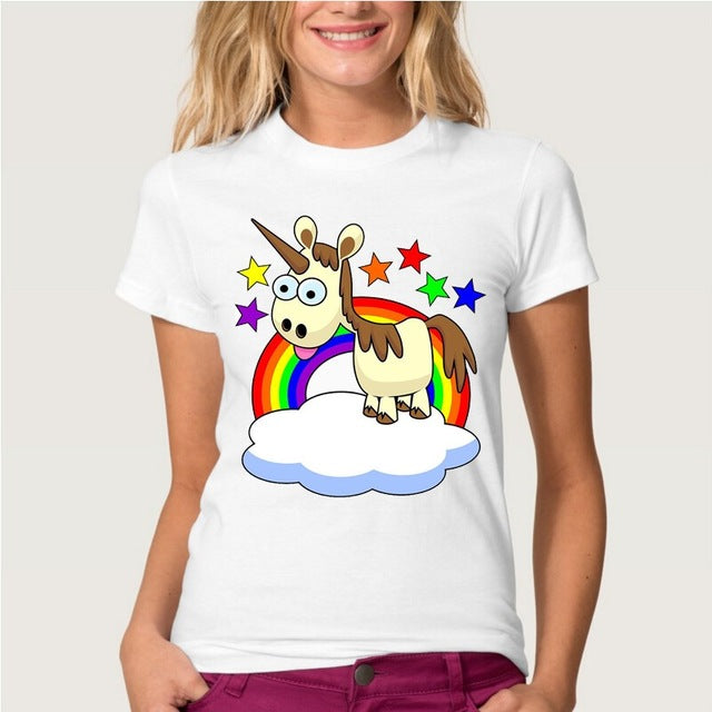 Funny Einhorn T-Shirts - Style4-Nature