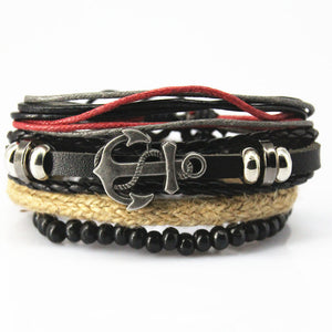 19 Sets - Multi-Layer Armbänder - Style4-Nature