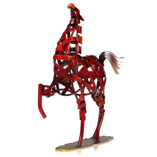 Moderne Metall Pferdefigur - Home Deko - Style4-Nature - Schmuck - Mode - Home Deko