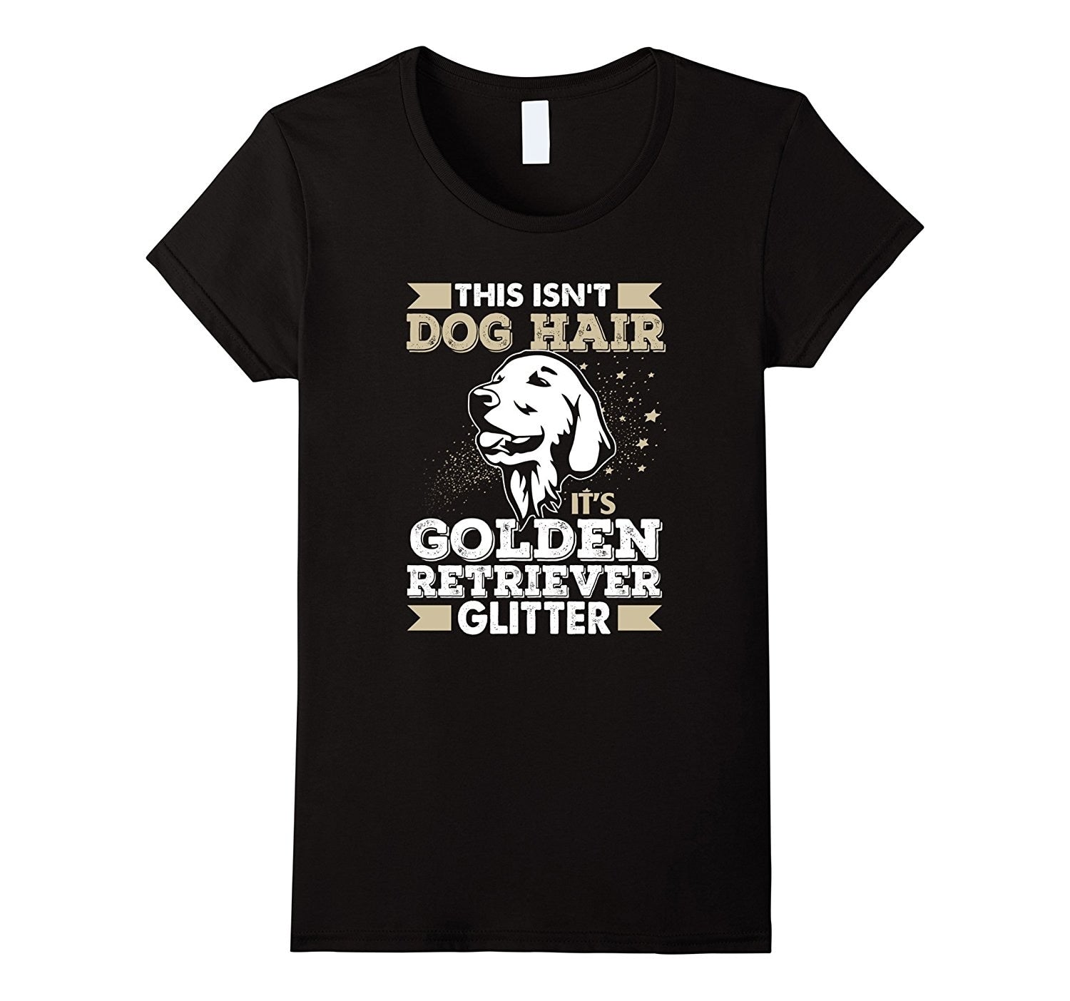 Golden Retriever - T-Shirt für Hundefans in 3D Druck - Style4-Nature