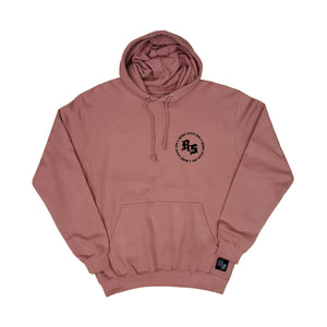 RS Basic Logo Hood Dusty Pink