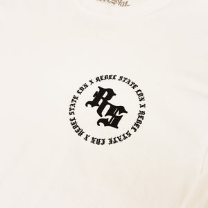 RS Basic Logo LS White