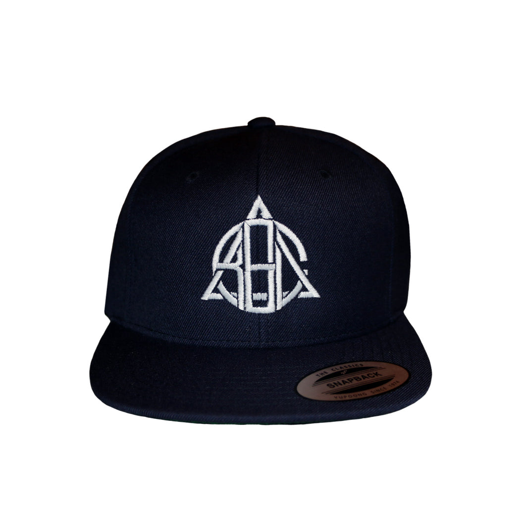 Borough Snapback Cap Navy
