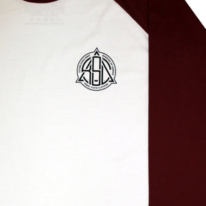 Borough Raglan Jersey Burgundy